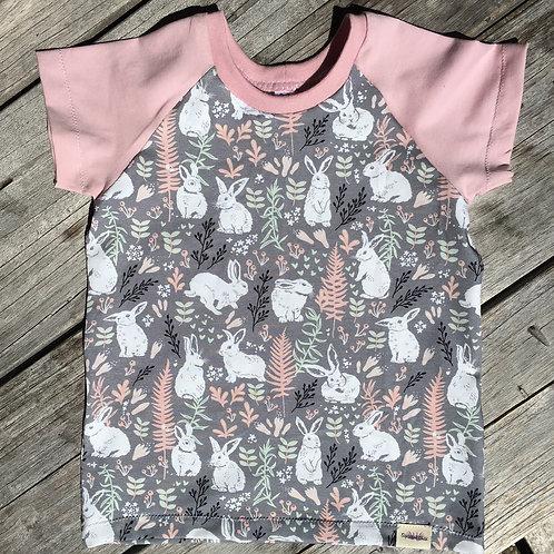 Bunnies Raglan T-shirt