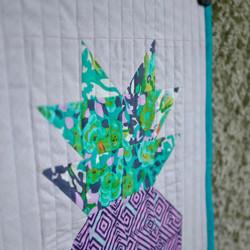 Pineapple Mini Quilt