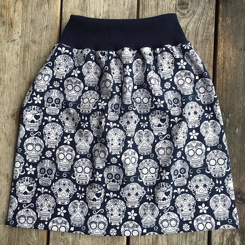 Sugar Candy Navy Twirly Skirt