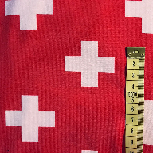 Swiss Flag Leggings