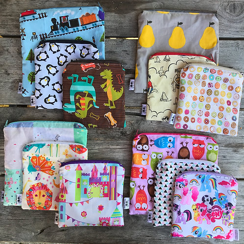 Pot Luck Snack Pouches Set 3