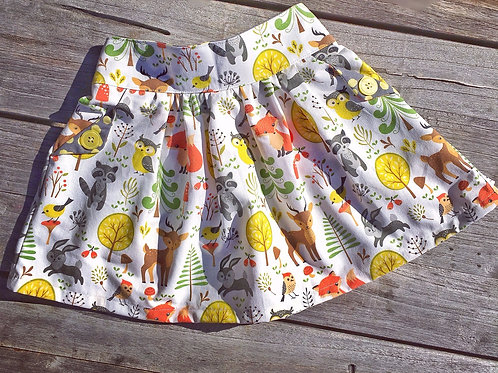 Summer Forest Pocket Skirt
