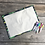 Thumbnail: Alligator Wipe Clean Fabric Colouring Placemat