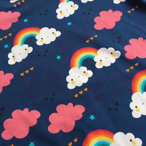 Happy Clouds Handmade Reversible Jacket