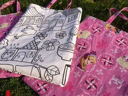 Colouring Themed Party bags