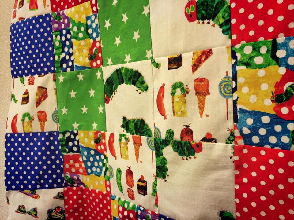 Hungry Caterpillar Patchwork