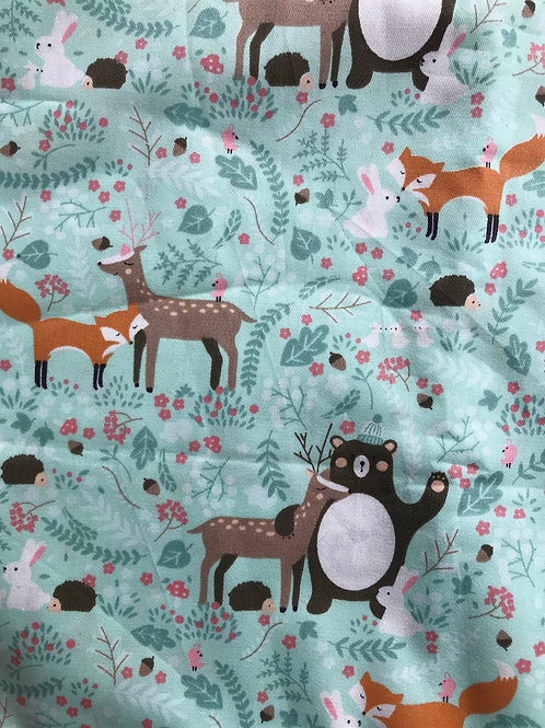 Mint Forest  Snack Pouch