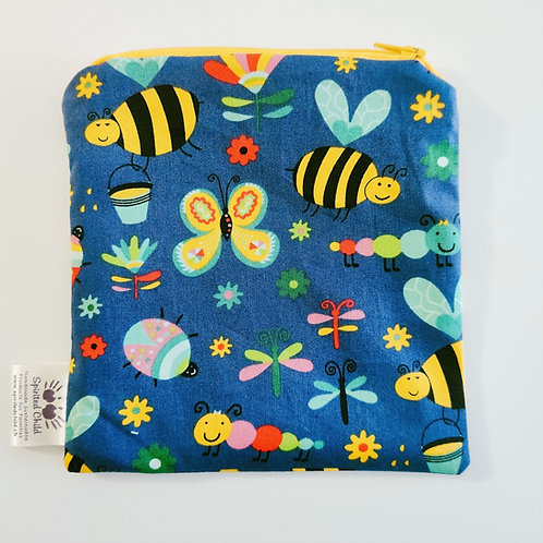 Bees & Bugs Snack Pouch