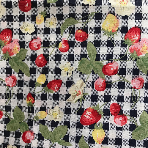 Gingham Fruit - Beeswax Wrap