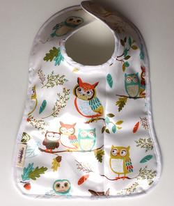 Owl Toddler Bib