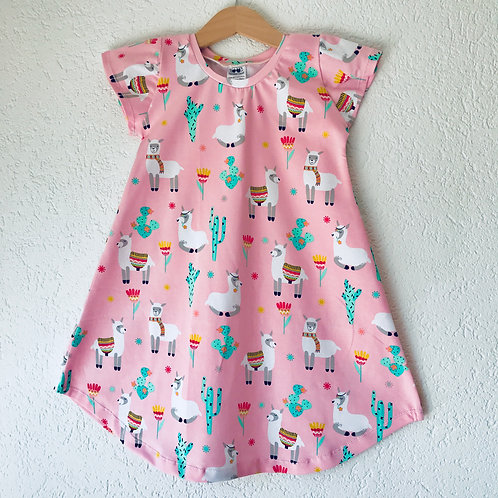 Llamas Summer Dress