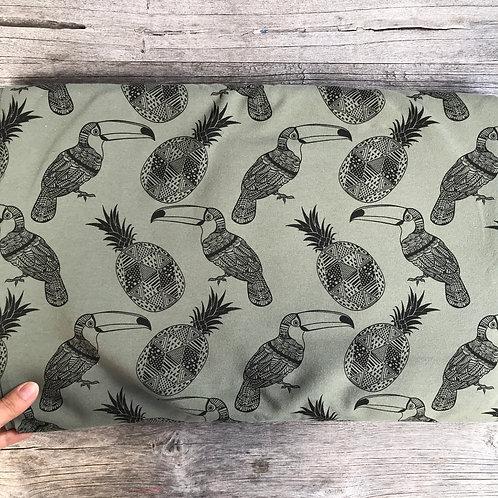 Tucan & Pineapples - Khaki