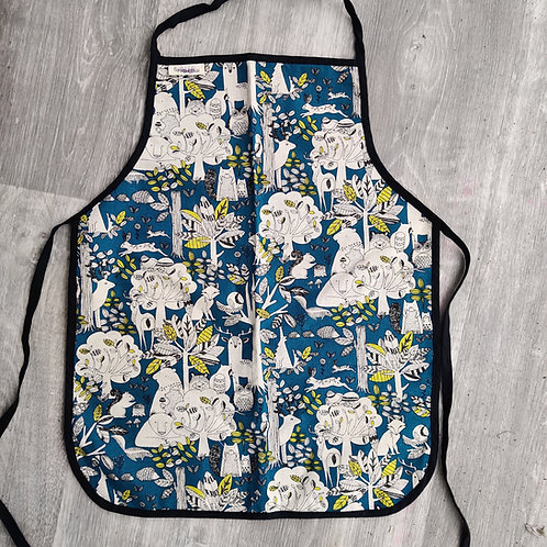 Teal Forest Apron