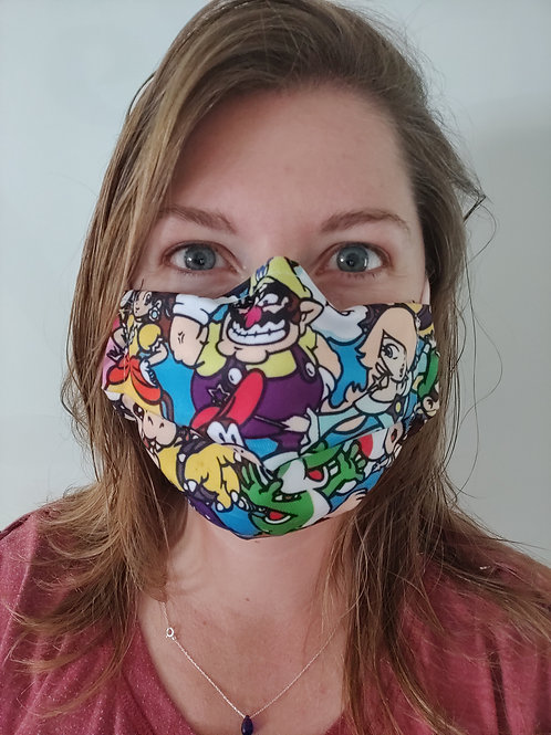 Character Reusable Face Covering