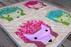 Hedgehog Mini Quilt