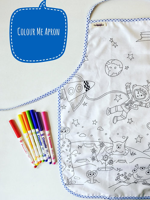 Colouring Apron -  Space