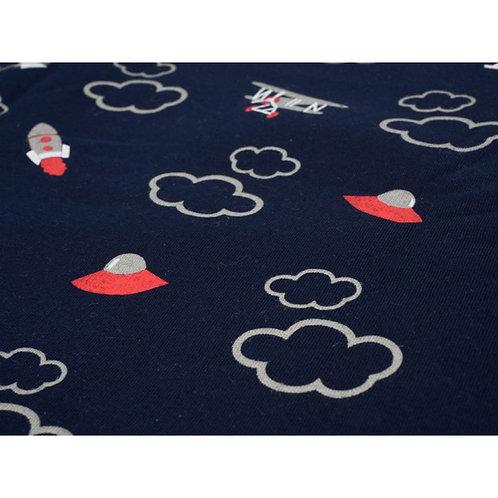 Navy Planes Raglan T-shirt
