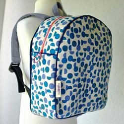 Scandi Blue Back Pack