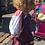 Thumbnail: Ballerina Colouring Drawstring Bag