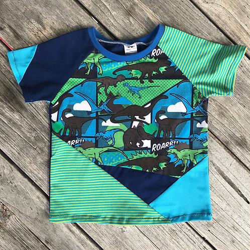 Dino Comic Block T-shirt