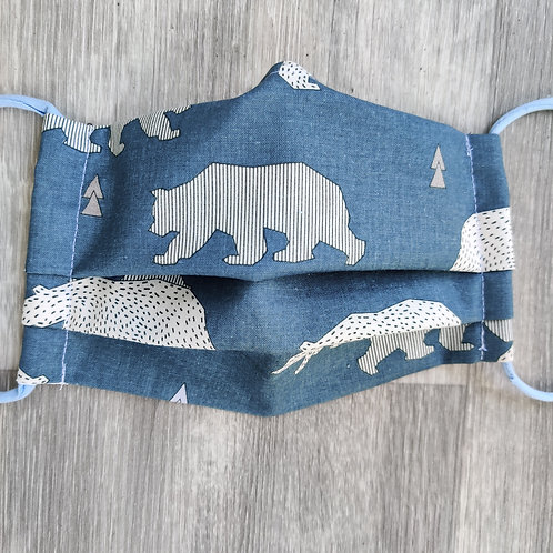 Organic Bears Reusable Face Covering