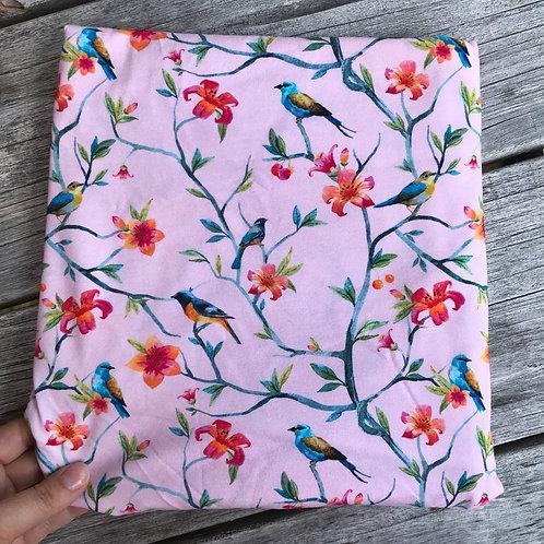 Birds & Flowers - Pink