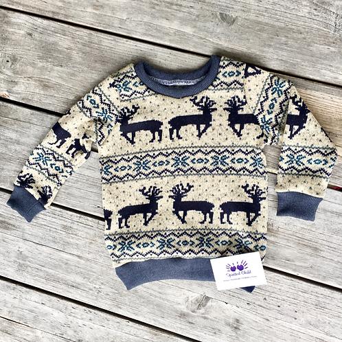 Scandi Winter Sweater
