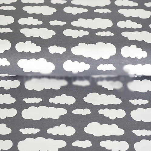Organic Soft Grey Cloud Leggings