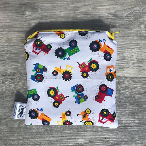Tractors Snack Pouch