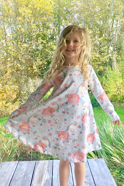 Winter Rose Groove Dress