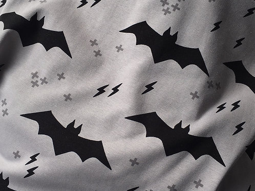 Retro Batman Leggings Grey