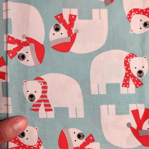 Polar Bears  - Reusable Face Covering