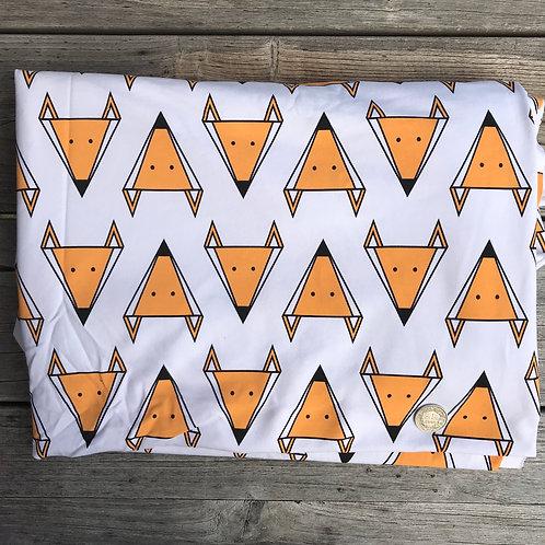 Geometric Foxes on White