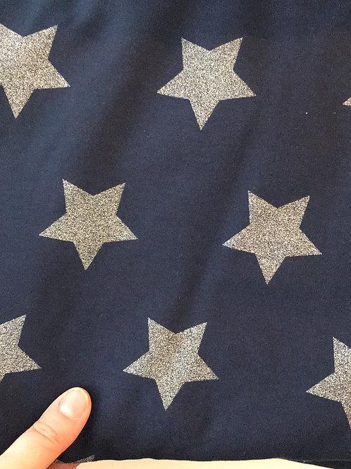 Glitter Stars Sweat Jersey