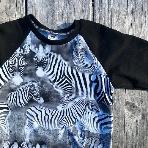Zebra Raglan T-shirt