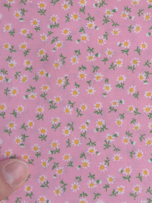 Pink Daisies Bread Sack