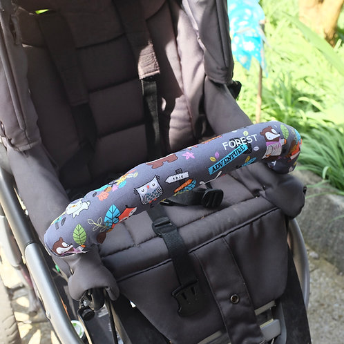 Forest Adventure Stroller Bumper Bar Cover