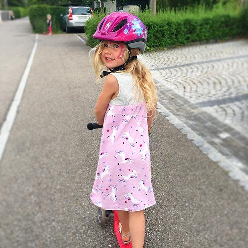 Purple Unicorn Maxi Dress