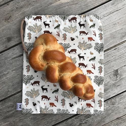 Scandi Forest Bread Sack
