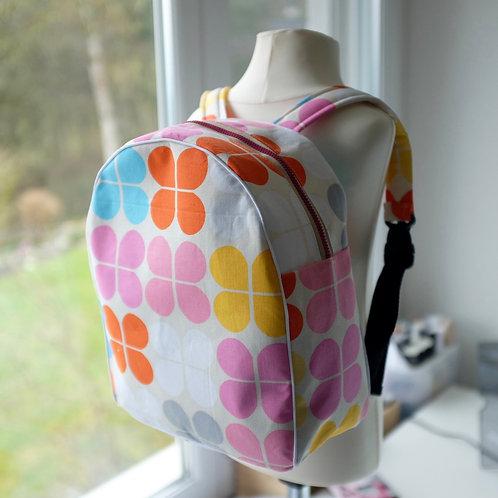 Scandi Flower Toddler/Pre-school Backpack