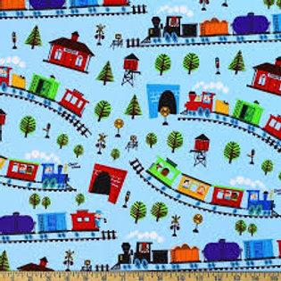 Blue Trains Bandana