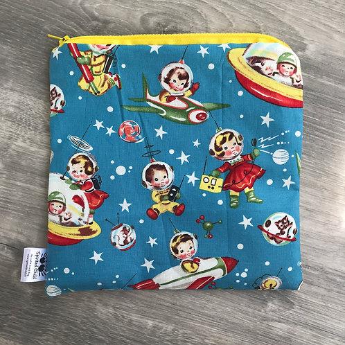 Retro space snack bag