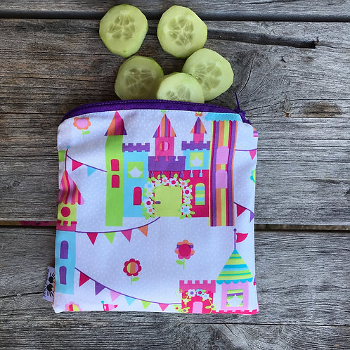 Castles & bunting Snack Pouch