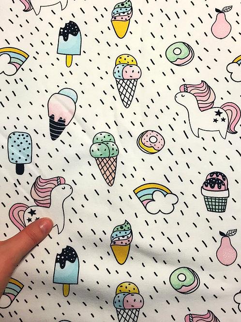 Ice Cream & Unicorn Sweat Jersey