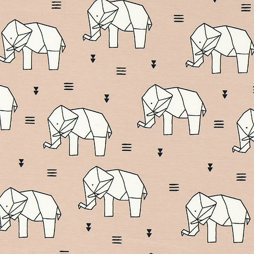 Origami Elephants Slouchy Beanie