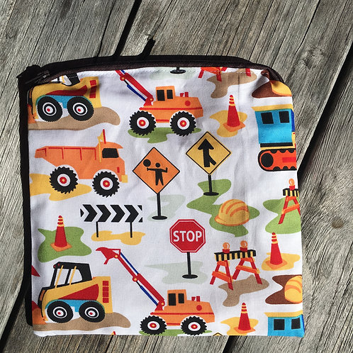 Dig it Construction Snack Pouch