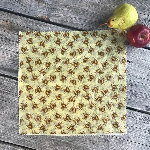 Vintage Bees- Beeswax Wrap