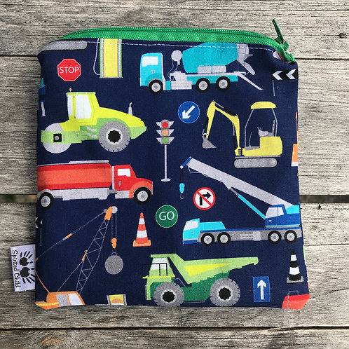 Navy Transport Vehicles Snack Pouch