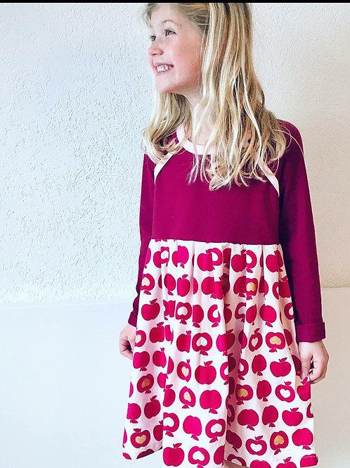 Apple Raglan Dress