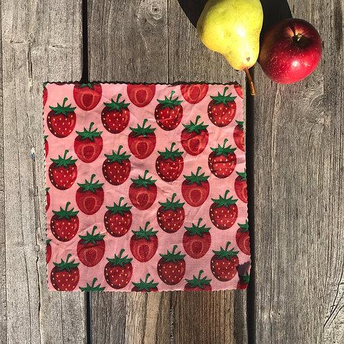 Scandi Strawberries - Beeswax Wrap